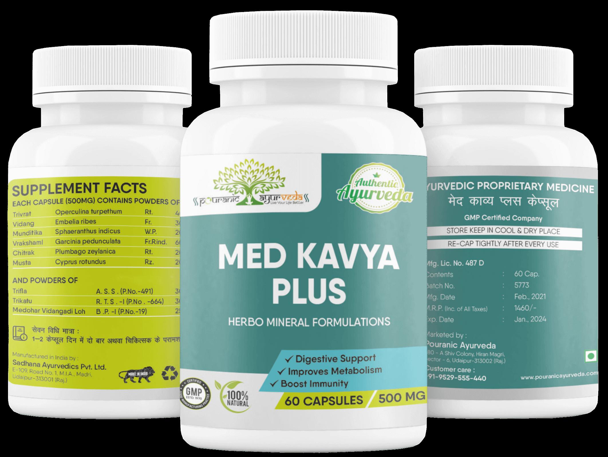 Med kavya  Plus Pouranic Ayurveda Slim Weight lose 9529555440 weight lose fat burn